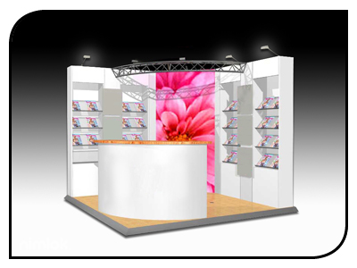 display stand 3x2
